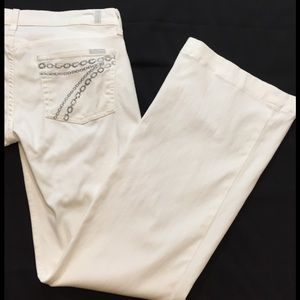 7 for all mankind DOJO jeans white size 39